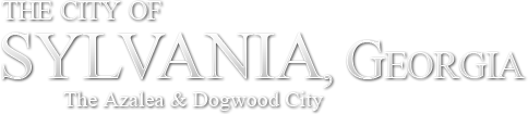 The City of Sylvania, Georgia - The Azalea & Dogwood City
